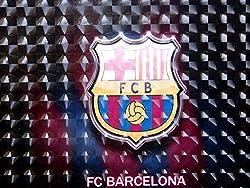 NiceLook 3D Design Logo FC Barcelona Laptop Skin