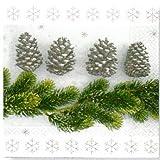 Paper+Design ペーパーナフキン クリスマス モミの枝