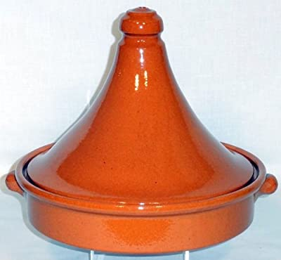 Amazing Cookware 25cm Natural Terracotta Tagine by Amazing Cookware