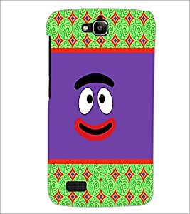 PrintDhaba Cartoon D-3311 Back Case Cover for HUAWEI HONOR HOLLY (Multi-Coloured)