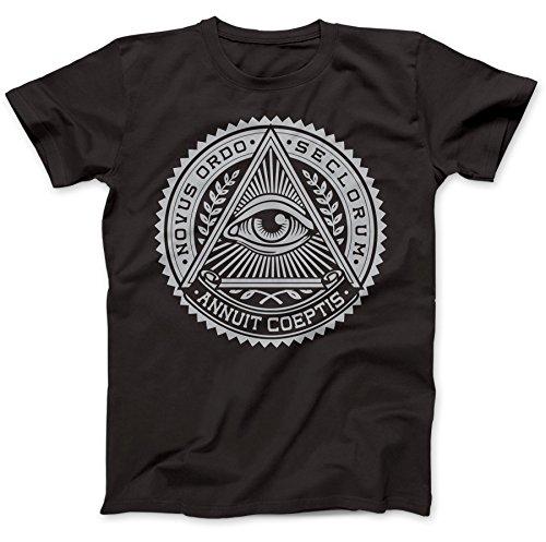 Illuminati-Eye-Symbol-T-Shirt-100-Baumwolle