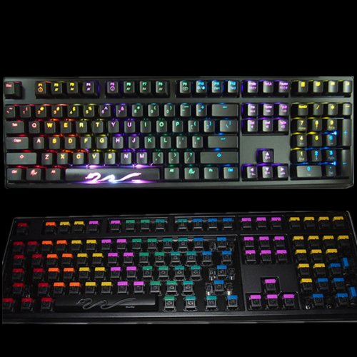 Daydream Led Cover For 108 Mechanical Keyboard White Backlit