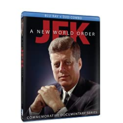 JFK - A New World Order - Commemorative Documentary Series - BD/DVD Combo [Blu-ray]