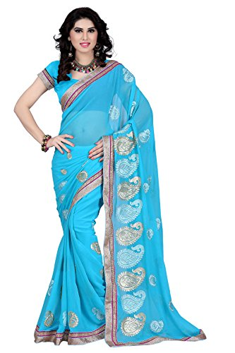 An-Ethnic-Affair-Sky-Blue-Chiffon-Traditional-Wear-Sarees-With-Blouse-Piece-9296Sky-BlueFreeSize