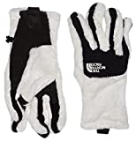 The North Face Women's Denali Thermal Etip Gloves - Gardenia White/TNF Black, X-Small