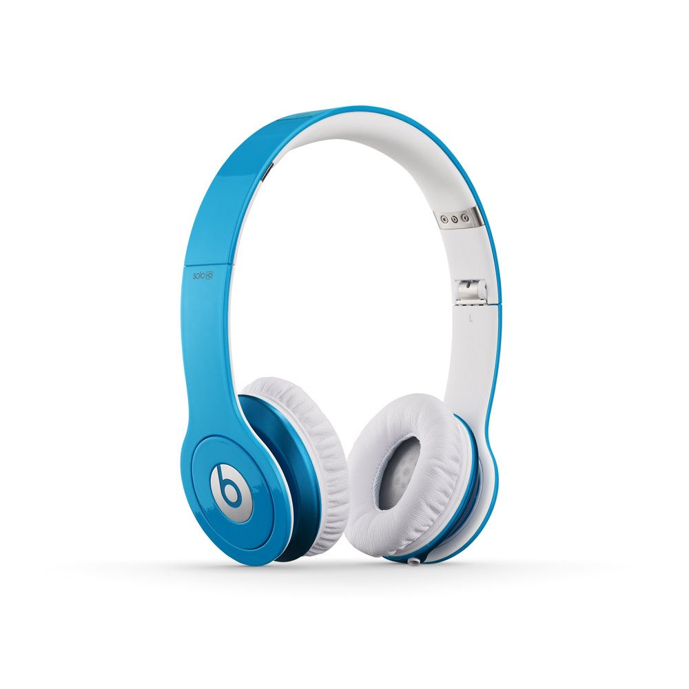 Dr Dre Beats Solo HD On-Ear Headphone (Light Blue)