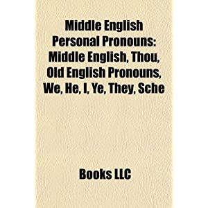 Table Of English Personal Pronouns | RM.