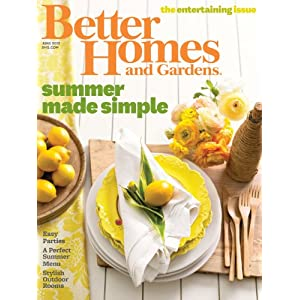 Magazine Subscriptions Better Homes Gardens 1 Year
