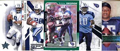 TENNESSEE TITANS Football Card Team Lot - 150 Assorted Cards