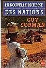La nouvelle richesse des nations par Sorman