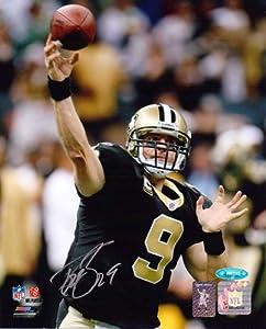 Drew Brees Signed New Orleans Saints 8x10 Photo by Radtke Sports