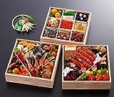 京都しょうざん 生おせち料理 2017 三段重 鷹ヶ峰 盛り付け済み 生おせち 冷蔵 お届け日:12月31日