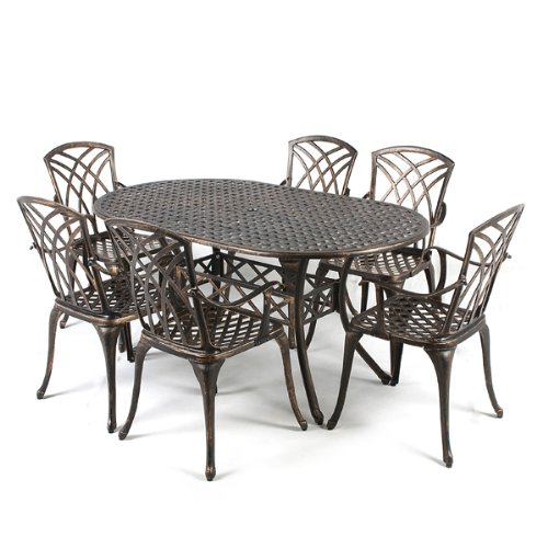 Metal garden table for sale custom metal garden for Metal patio tables sale