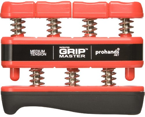 Prohands プロハンズ ハンド・エスクササイザー GRIP MASTER グリップマスター GM-14002ミディアム/RD