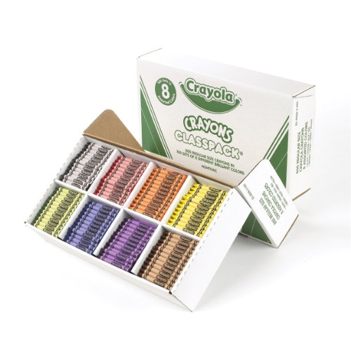 SmileMakers Crayola Crayons Classpack Assorted Colors 800 Crayons Per Pack at Sears.com