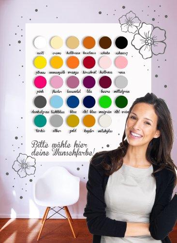 Graz-design-stickers-muraux-licornes-avec-nom-et-motif-toiles-m780-choix-de-couleur