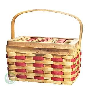 Chipwood Picnic Rectangle Basket
