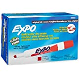 Expo Original Dry Erase Markers, Chisel Tip, 12-Pack, Red