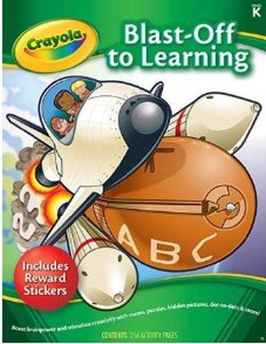 CARSON DELLOSA CD-104492 Blast Off To Learning Activity Book - 1