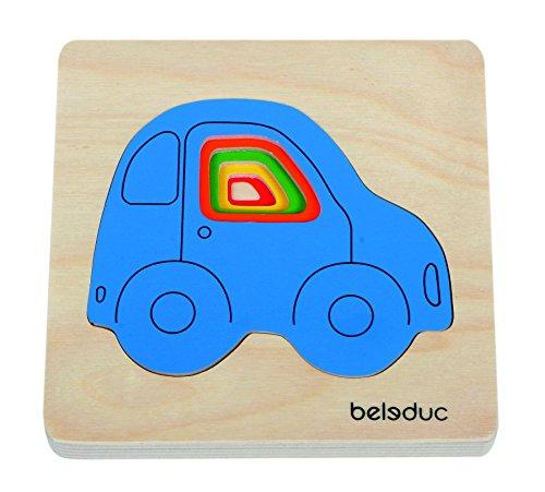 beleduc-10142-lagen-puzzle-auto