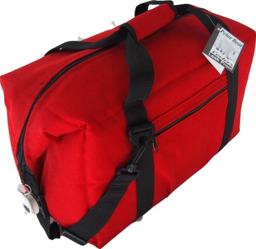 Polar Bear Coolers 24 Pack Soft Cooler, Red