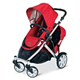 Britax B-Ready Stroller and 2nd Stroller Seat - Red