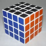 LanLan 4x4 Sticker Speed Cube Puzzle White