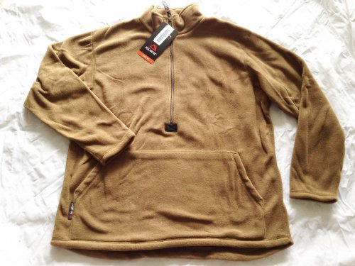 Official US Military Polartec Classic 100 USMC HalfZip Pullover Fleece Jacket Picture