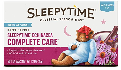 Celestial Seasonings Sleepytime Echinacea Complete Care Tea, 20 Count (Pack of 6) (New Mexico Tea Company compare prices)