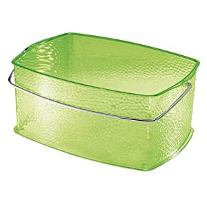 InterDesign Rain Basket, Chartreuse, Medium