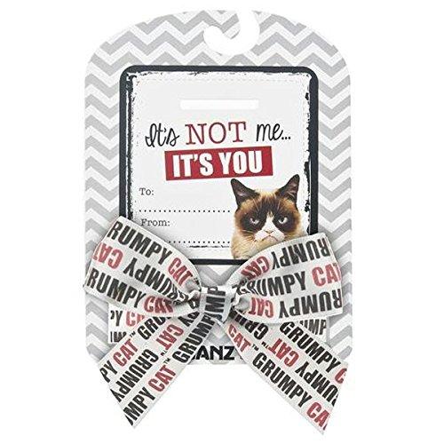 "Grumpy Cat Sentiments ""It's Not Me, It's You"" Bow & Card - 1"