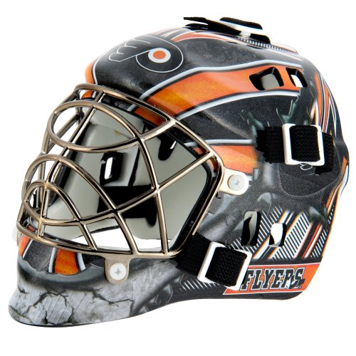 NHL League Logo Philadelphia Flyers Mini Goalie Mask at Amazon.com