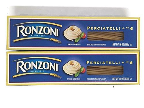 Ronzoni Perciatelli No. 6 Spaghetti Pasta, 1 lb. Boxes (Set of 2) (Pasta Spaghetti Box compare prices)