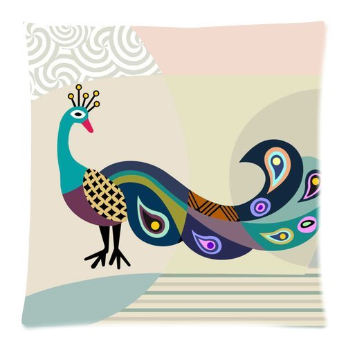 Peacock Feather Design Bedding front-1043342