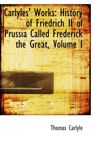 the reasons why prussia needed frederick the great Frederick the great was born in berlin, in 1712 under the guidance of his militaristic father, frederick-william 1 of prussia and his mother, sophia dorothea of hanover as a child, he spent most of his time in rigorous military training and education.