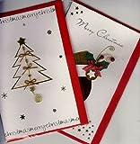 HANDMADE CHRISTMAS CARDS ASSORTMENT-HIGH QUALITY AT A GOOD PRICE