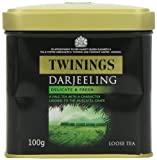 Twinings Darjeeling Ing ift Caddy 100 g (Pack of 6)