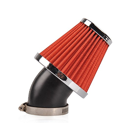 Nibbi Racing High Performance Air Filter 42-48mm for Scooter GY6 Yamaha 100cc Motocross BSE YBR Cygnus 125CC (48mm)