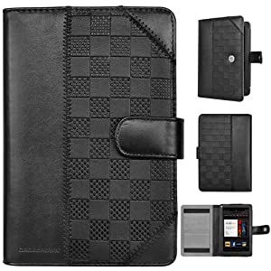 CaseCrown Check Flip Kindle fire case