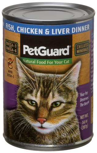 Fish, Chicken & Liver Food for Cats - 14-Ounce Cans (Pack of 12)