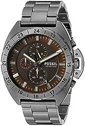 Fossil Men's CH3002 Breaker All-Terrain Chronograph Stainless Steel Watch - Smoke