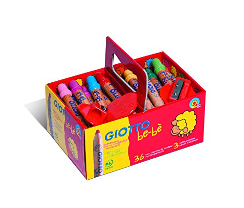 giotto-be-be-4613-00-colouring-pencils-large-pack-of-36-with-3-sharpeners