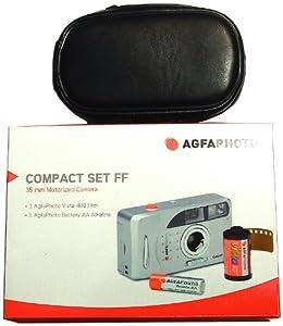 Lupus AGFAFF96T Set appareil photo argentique + housse + 3 pellicules pour 96 photos