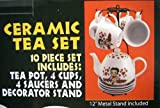 Croce Collection Sweetheart Betty Boop Ceramic Tea Set - Betty Boop Dinnerware