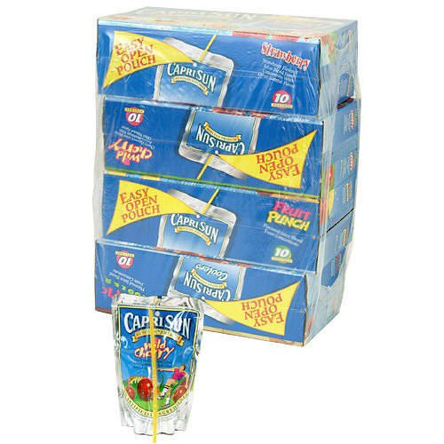 Capri Sun Juice Variety 40 Packs