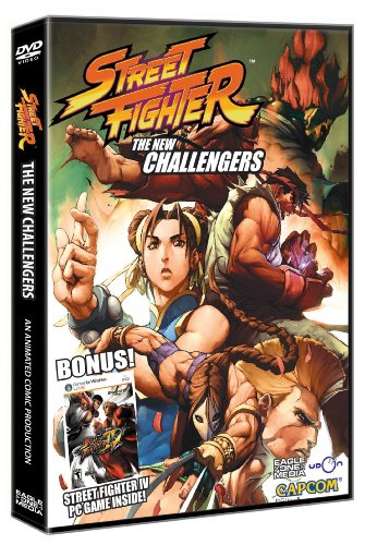 Street Fighter: The New Challengers + Street Fighter IV PC Game Bundle [DVD]