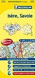 echange, troc Collectif Michelin - Carte departements Isere, Savoie
