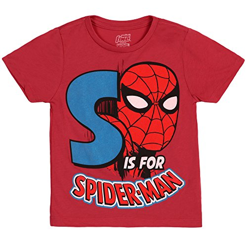 Spiderman S Is For Spiderman Kids T-Shirt- Juvenile 5