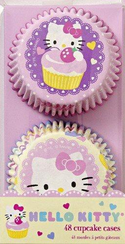 Meri Meri Hello Kitty Cupcake Cases, 48-Pack