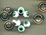 Safety Toy Frog's Joggle Eyes 16mm, pk of 3prs